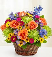 Beautiful Basket with Rakhi