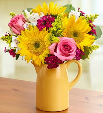 Sunflower Garden Bouquet + Free Gift