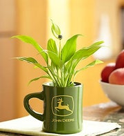 John Deere Mug with Peace Plant