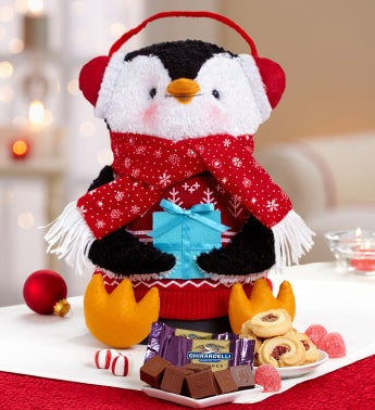 Penguin Plush Sweets Tower