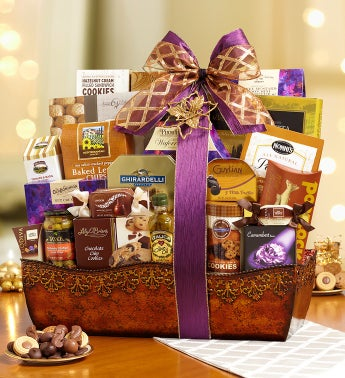Grand Indulgences Gourmet Gift Basket