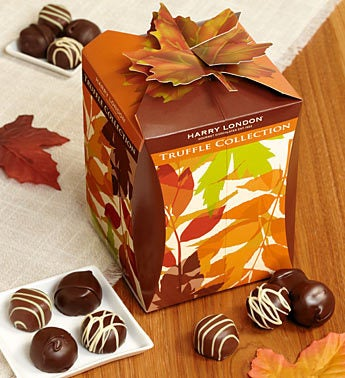 Harry London Fall Chocolate Truffles