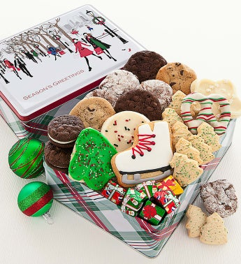 Cheryl's Holiday Cheer Gift Tin with Treats