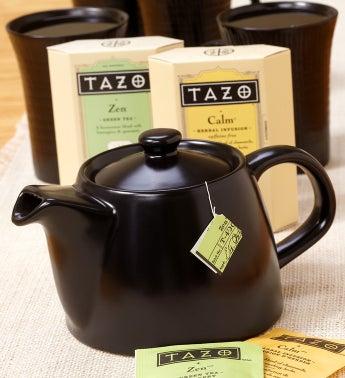 Tazo� Tea & Teapot Gift