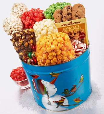 The Popcorn Factory� Frosty Friends Too Snack Tin