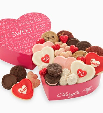 Cheryl's Sweet Heart Treats Box