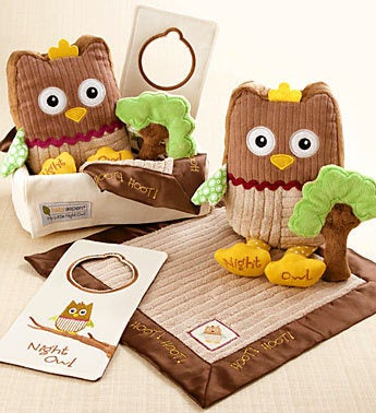 My Little Night Owl 5-Piece Baby Gift Basket