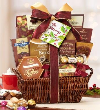 Resplendent Elegance Holiday Gift Basket