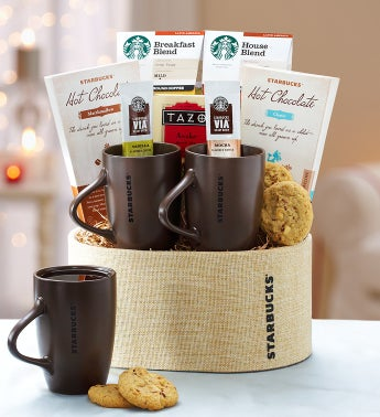 Starbucks For Two Gift Basket