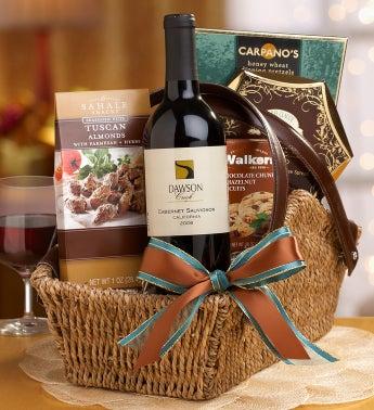 Sonoma Wine Taste Tour Gift Basket