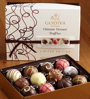 Godiva Ultimate Dessert Truffles Box