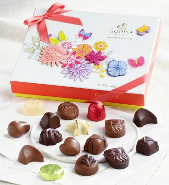 Godiva 16 pc Spring Gift Box