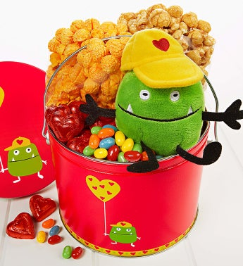 The Popcorn Factory� Valentine Monster Fun Pail