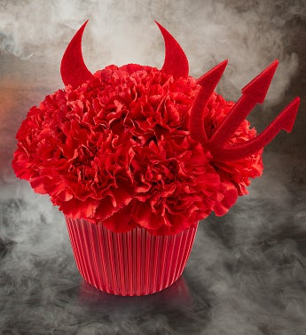Cupcake in Bloom� Devil's Food Cake