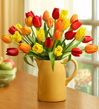 Fall Harvest Tulip Bouquet, 30 Stems