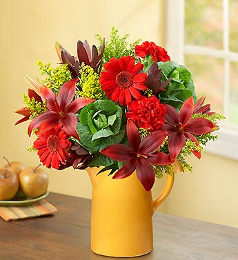 Fruits of the Harvest Bouquet + Free Vase