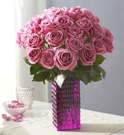 Passion for Purple? Roses, 12-24 Stems