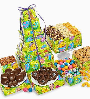 The Popcorn Factory� Egg-Ceptional Easter Tower