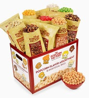 The Popcorn Factory� 18-Pack Popcorn Sampler