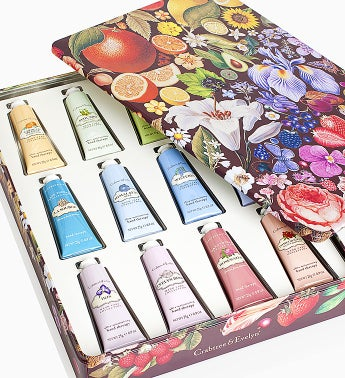 Crabtree & Evelyn Hand Therapy Paint Tin Box