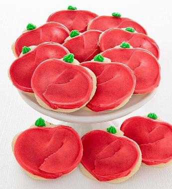 Cheryl's Apple Cut-Out Cookies-12ct