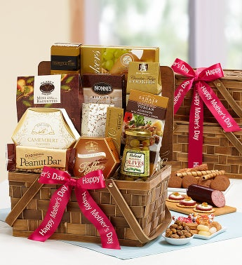 Mother's Day Delectable Duo Gift Basket