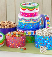 The Popcorn Factory� Happy Birthday Cake Stack