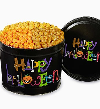 Popcorn Factory� Happy Halloween Tin