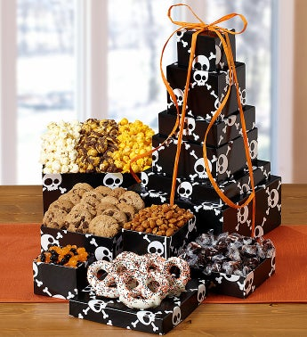 Popcorn Factory�Skulls 6 Tier Tower