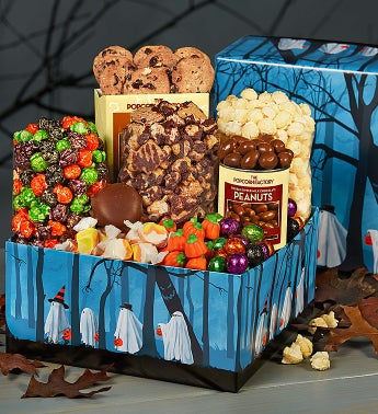 The Popcorn Factory Trick or Trees Sampler Box