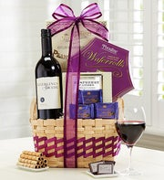 Mom's Wine Escape Gift Basket
