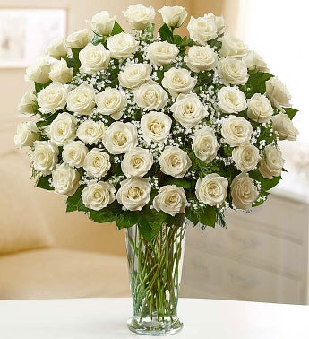 Ultimate Elegance? Premium Long Stem White Roses