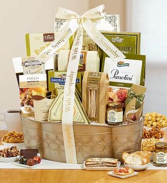 Sincere Sympathy Gourmet Gift Basket
