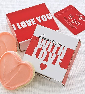 Cheryl's I Love You Cookie Card