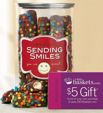 Sending Smiles Pretzel Present