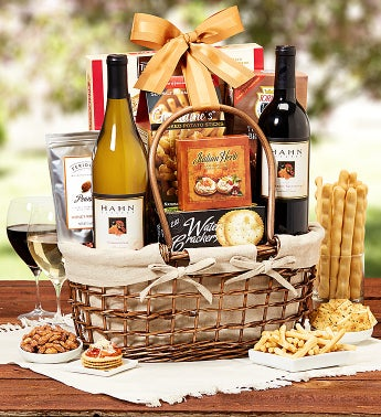 Hahn Estates� Wine Pairing Gift Basket