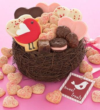 Cheryl's Lovebird Gift Basket