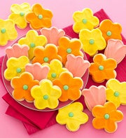 Cheryl's Flower Frosted Cut-Outs