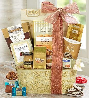 Elegant Sentiment Gourmet Gift Basket