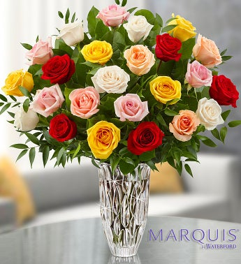 Marquis by Waterford� Premium Assorted Roses
