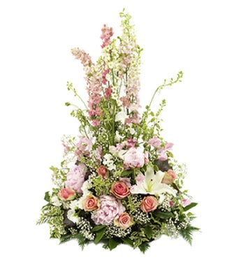 Beautiful Pink Funeral Arrangement