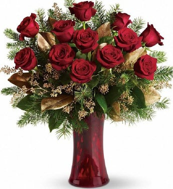Red Christmas Arrangement