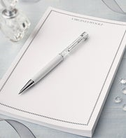 Swarovski�  Crystal Pen & Personalized Notepad