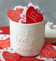 """30 Days of """"I Love You Because"""" Notes and Canister"""