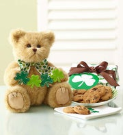 St. Paddy's  Bearington® Bear with Cookies