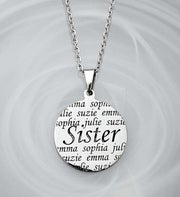 Personalized Family Pendant