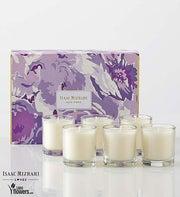 Isaac Mizrahi Lilac Votive Set