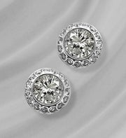 SWAROVSKI® Angelic Stud Earrings