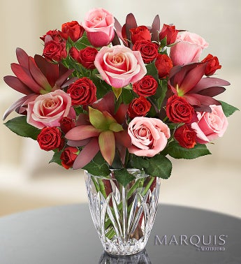 Elegance Bouquet in Marquis by Waterford� Vase