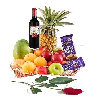 Fruits, Wine and Chocolate